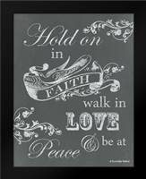 Hold on in Faith: Framed Art Print by Babbitt, Gwendolyn