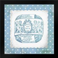 French Soap Blue I: Framed Art Print by Babbitt, Gwendolyn