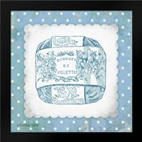 French Soap Blue II: Framed Art Print by Babbitt, Gwendolyn