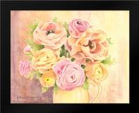 Rose Bouquet: Framed Art Print by Babbitt, Gwendolyn