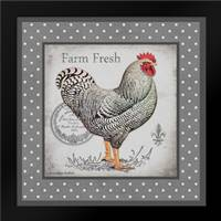 Farm Fresh Eggs I: Framed Art Print by Babbit, Gwendolyn