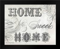 Home Sweet Home IV: Framed Art Print by Babbitt, Gwendolyn