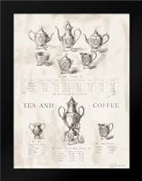 Tea and Coffee: Framed Art Print by Babbitt, Gwendolyn