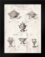 Tureens: Framed Art Print by Babbitt, Gwendolyn
