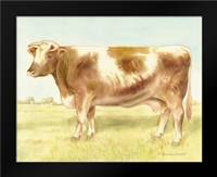 Cow: Framed Art Print by Babbitt, Gwendolyn