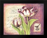 Tulip Collage I: Framed Art Print by Babbitt, Gwendolyn