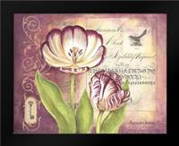Tulip Collage II: Framed Art Print by Babbitt, Gwendolyn