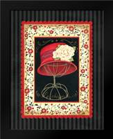 Dressed in Red I: Framed Art Print by Babbitt, Gwendolyn