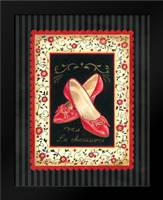 Dressed in Red III: Framed Art Print by Babbitt, Gwendolyn
