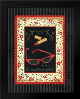 Dressed in Red IV: Framed Art Print by Babbitt, Gwendolyn