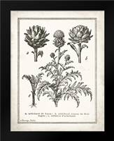 French Artichokes: Framed Art Print by Babbitt, Gwendolyn