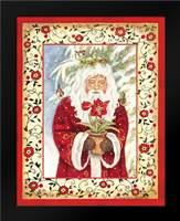 Father Christmas: Framed Art Print by Babbitt, Gwendolyn