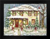 Home for the Holidays: Framed Art Print by Babbitt, Gwendolyn