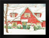 Home for Christmas: Framed Art Print by Babbitt, Gwendolyn