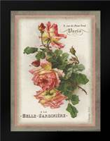 French Rose I: Framed Art Print by Babbitt, Gwendolyn