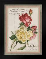 French Rose II: Framed Art Print by Babbitt, Gwendolyn
