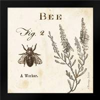 Bee Fig 2: Framed Art Print by Babbitt, Gwendolyn