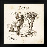 Bee Fig 5: Framed Art Print by Babbitt, Gwendolyn