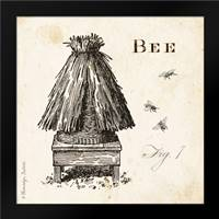 Bee Hive Fig 7: Framed Art Print by Babbitt, Gwendolyn