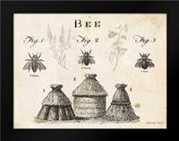 Bee Chart I: Framed Art Print by Babbitt, Gwendolyn