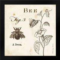 Bee Fig 3: Framed Art Print by Babbitt, Gwendolyn