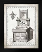 Victorian Sink II: Framed Art Print by Babbitt, Gwendolyn