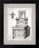 Victorian Sink Stripes II: Framed Art Print by Babbitt, Gwendolyn
