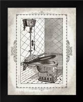 Victorian Toilet I: Framed Art Print by Babbitt, Gwendolyn
