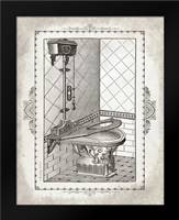 Victorian Toilet II: Framed Art Print by Babbitt, Gwendolyn