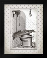 Water Closet II: Framed Art Print by Babbitt, Gwendolyn