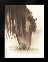 Lovely Brown Horse: Framed Art Print by Babbitt, Gwendolyn