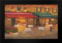 Dining in Paris I: Framed Art Print by Bailey, Carol