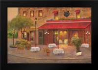 Dining in Paris II: Framed Art Print by Bailey, Carol