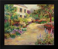 Monets House: Framed Art Print by Bailey, Carol