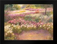 Along the Path: Framed Art Print by Bailey, Carol