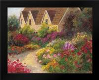 English Garden: Framed Art Print by Bailey, Carol