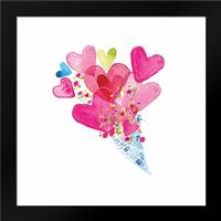 I Heart You I: Framed Art Print by Berrenson, Sara