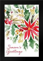Poinsettia Pine: Framed Art Print by Berrenson, Sara