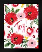 Christmas Floral II: Framed Art Print by Berrenson, Sara