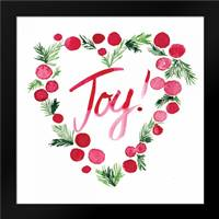 Heart Joy Sq: Framed Art Print by Berrenson, Sara