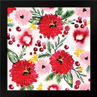 Christmas Floral III: Framed Art Print by Berrenson, Sara