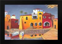Puerto del Mar I: Framed Art Print by Brent, Paul
