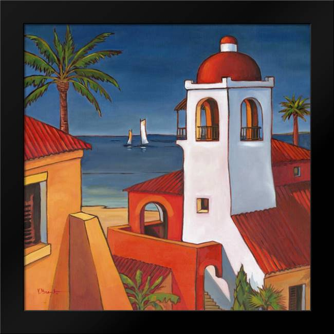 Antigua I: Framed Art Print by Brent, Paul