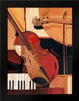 Abstract Violin: Framed Art Print by Brent, Paul