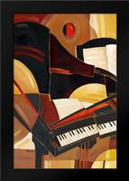 Abstract Piano: Framed Art Print by Brent, Paul