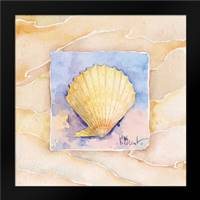 Scallop: Framed Art Print by Brent, Paul
