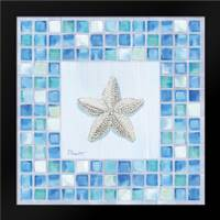 Mosaic Starfish: Framed Art Print by Brent, Paul