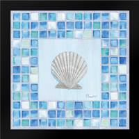 Mosaic Scallop: Framed Art Print by Brent, Paul