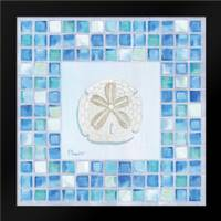 Mosaic Sanddollar: Framed Art Print by Brent, Paul