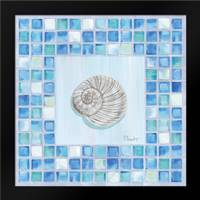 Mosaic Moonshell: Framed Art Print by Brent, Paul